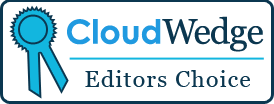cloudwedge editors choice badge