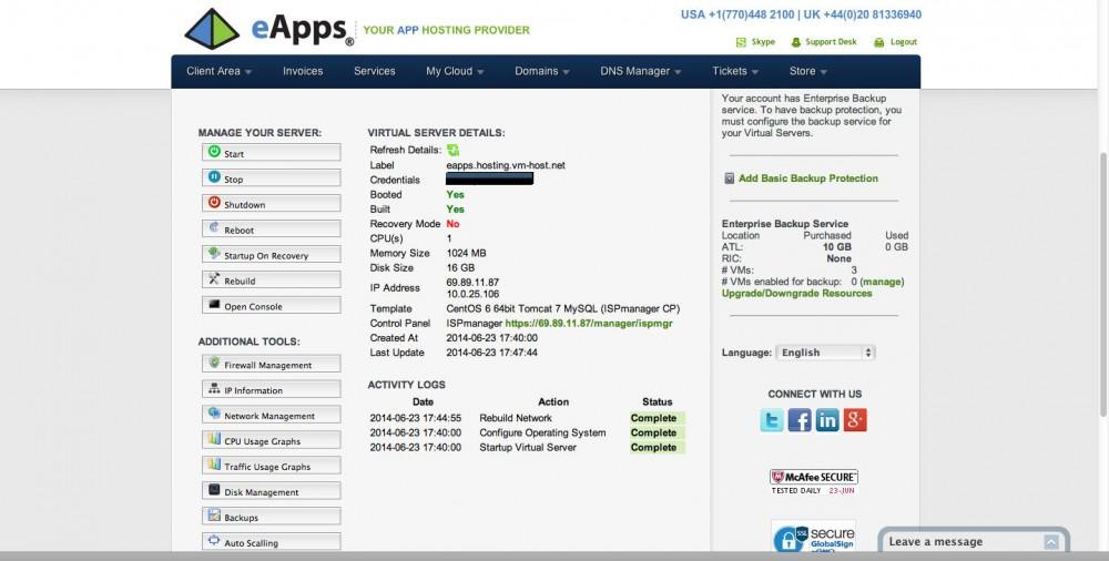 eApps Portal