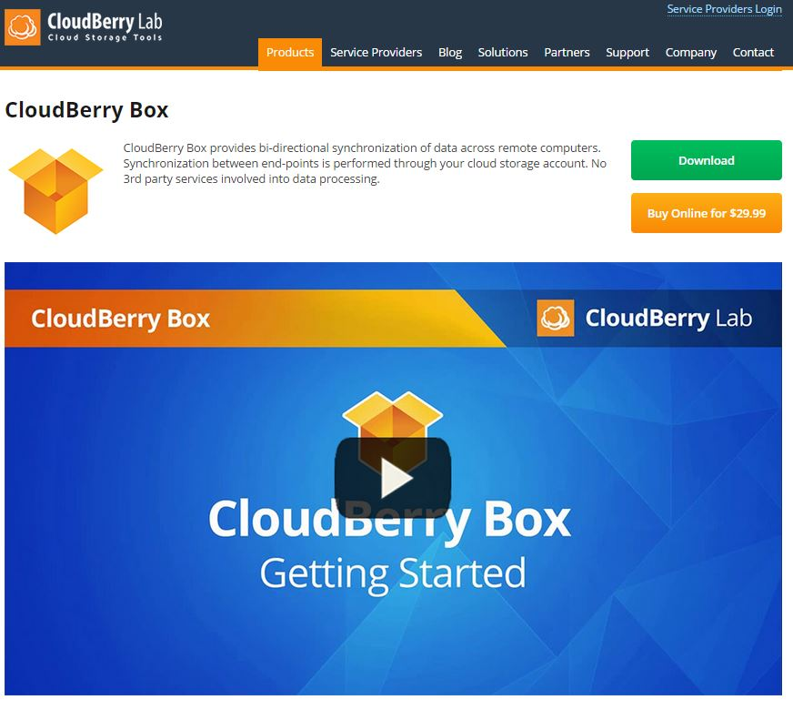 CloudBerry Box Review  sc 1 st  CloudWedge.com & CloudBerry Box Review | CloudBerry Cloud Storage | Cloudwedge.com