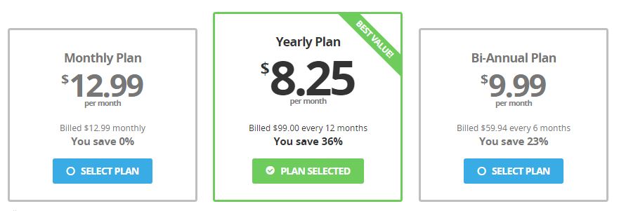 Buffered VPN Pricing