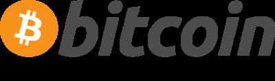 bitcoin logo cloud