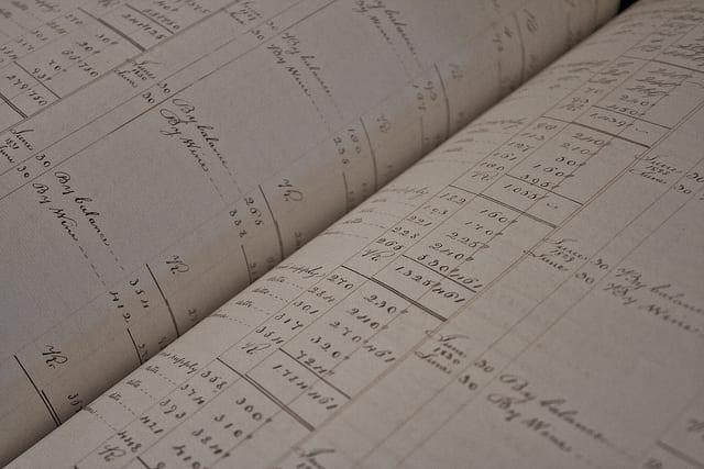 accounts book