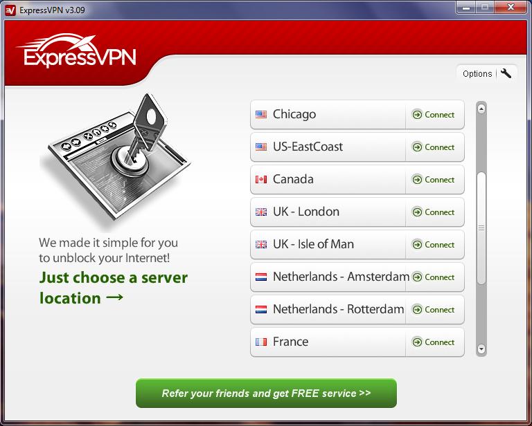 ExpressVPN Client