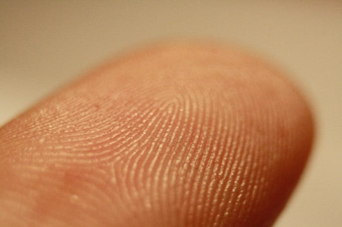 Fingerprint_detail_on_finger